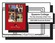 CUNY Queens College - Queens College - CUNY