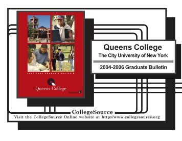 CUNY Queens College - Queens College - CUNY