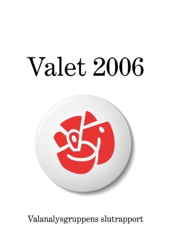 Valet 2006 - Socialdemokraterna