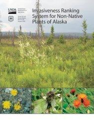 Invasiveness Ranking System for Non-Native Plants of Alaska