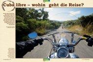 Cuba libre – wohin geht die Reise? - Edelweiss Bike Travel