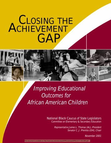 Closing the Achievement Gap - National Education Policy Center