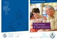 Pathways & Transitions Brochure v4.indd - Bendigo Senior ...