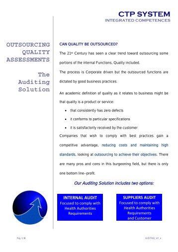 Qsa internal audit checklist