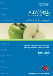 A World of Excellence - Allworld Exhibitions