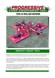 Progressive TDR15 Tri-Deck Roller Mower - Vanmac.nl