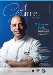 Guru and Guide - The Emirates Culinary Guild