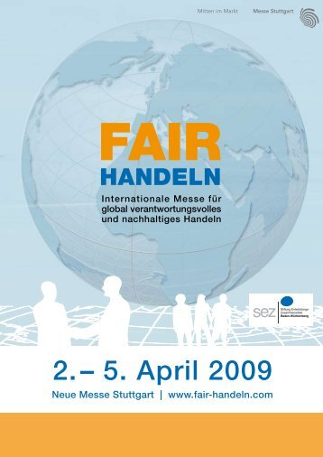 2.– 5. April 2009 - Swiss Fair Trade