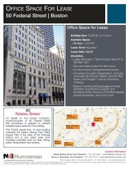50 Federal Street Flyer 6.2 ... - NAI Global
