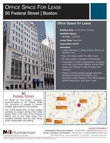50 Federal Street Flyer 6.2 ... - NAI Global