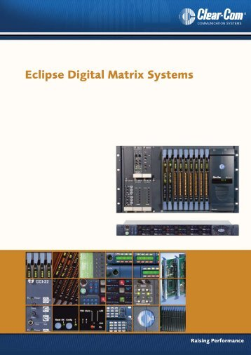 Eclipse Digital Matrix Systems - AVC Group