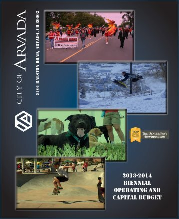 2013-2014 Biennial Operating and Capital Budget - pdf - Arvada
