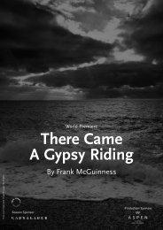 There Came A Gypsy Riding - Almeida Theatre