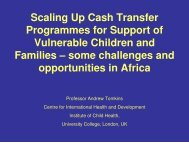 Scaling Up Cash Transfer Programmes - The Coalition for Children ...