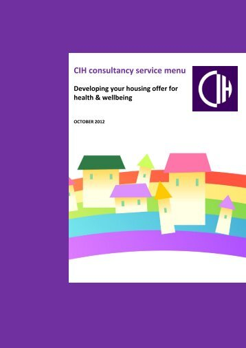 Download our health and wellbeing service menu here