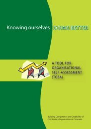 Knowing ourselves - Doing Better - Aga Khan Development Network