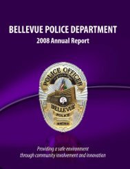 police/fire communications - City of Bellevue