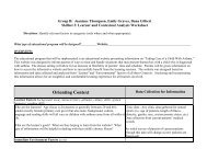 Learner and Contextual Analysis Worksheet