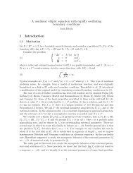 A nonlinear elliptic equation with rapidly oscillating ... - CAPDE