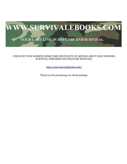 1969 US Army Vietnam War Minimanual of the     - Survival Books