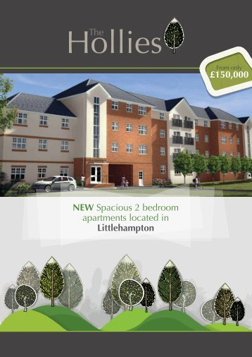 NEW Spacious 2 bedroom apartments located in Littlehampton ...