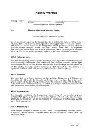 SWBPA Agenturvertrag - löwen-press