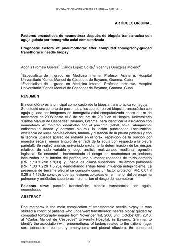 Formato pdf - Centro de Información de Ciencias Médicas (La ...