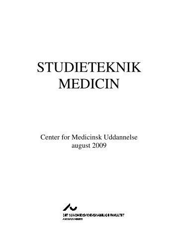 studieteknik medicin - Center for Medicinsk Uddannelse - Aarhus ...