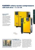 Rotary Screw Compressors SX–HSD Series - Kaeser Compressors - Page 6