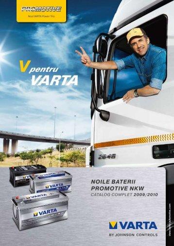 Noul catalog pentru camioane - Baterii auto