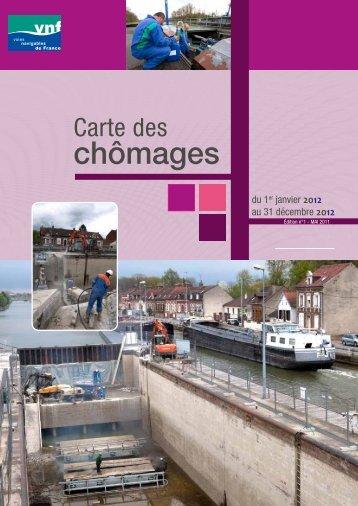 chômages - Voies navigables de France