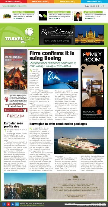 Friday 19th July 2013.indd - Travel Daily Media