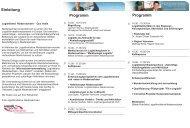 Einleitung Programm Programm - Die Wirtschaft im Ammerland