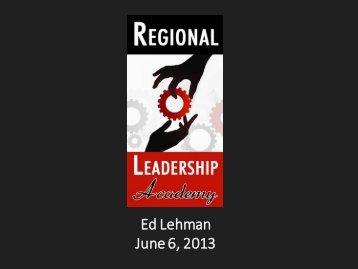 RLA Class Presentation - Northeast Florida Regional Council