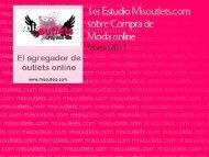 I Estudio Misoutlets.com sobre Compra de Moda online - inVIPtus