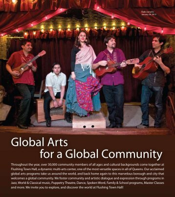 Global Arts for a Global Community - Flushing Town Hall