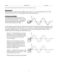 Waves on a string teacher notes and lesson.pdf - PhET