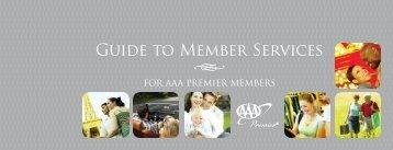 Premier Handbook - AAA Carolinas