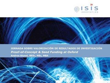 Technology Transfer from the University of Oxford - Vicerreitorado ...