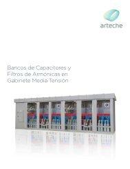 Bancos de Capacitores y Filtros de Armónicas en Gabinete Media ...