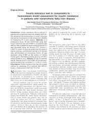 Nonalcoholic fatty liver disease (NAFLD) - Indian Journal of ...