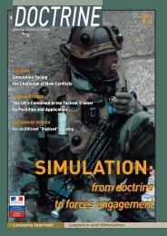 doctrine 10 : simulation - Integrated Defence Staff