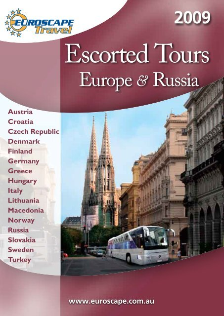 Europe & Russia - Euroscape Travel