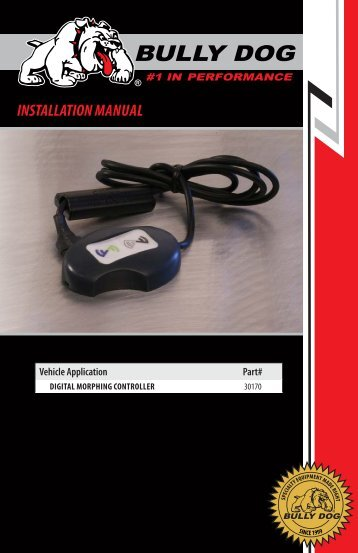 INSTALLATION MANuAL - Xtreme Diesel Performance
