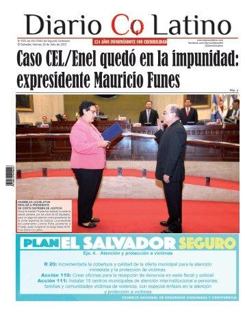 Edición 10 de Julio de 2015