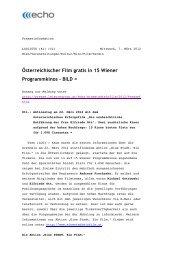Österreichischer Film gratis in 15 Wiener Programmkinos – BILD =