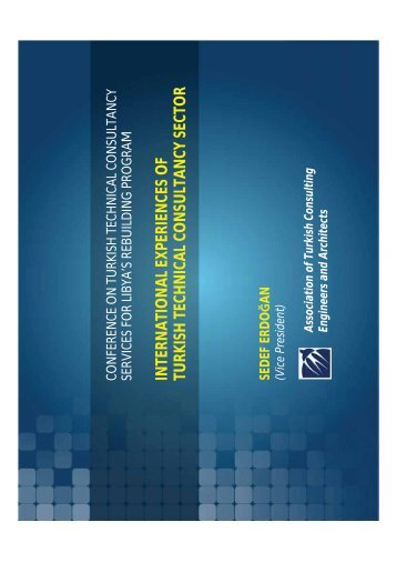 international experiences of turkish technical consultancy sector