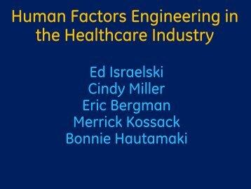 Panel - Human Factors and Ergonomics Society