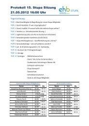 Protokoll 15. Stupa Sitzung 21.05.2012 16:00 Uhr - KeinDrama