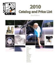 June 2010 Catalog and Price List (2.9 MB) - His Glassworks